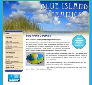 Blue Island Ceramics website Screen Grab