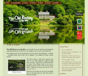 Rectory on the Lake website Screen Grab
