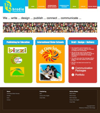 Brodie Communications Website Design