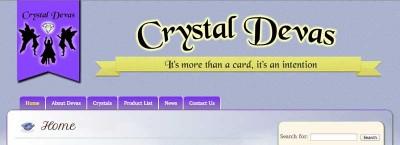 Website Design for Crystal Devas