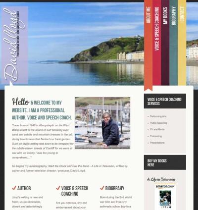 David Lloyd Website Screen Grab